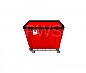 R&B Wire Products - R&B Wire 408SO 8 Bushel Permanent Liner Basket Truck