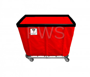 R&B Wire Products - R&B Wire 410SO 10 Bushel Permanent Liner Basket Truck