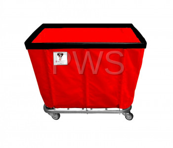 R&B Wire Products - R&B Wire 412SO 12 Bushel Permanent Liner Basket Truck