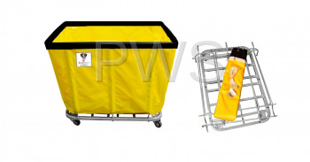 R&B Wire Products - R&B Wire 412KD 12 Bushel UPS/FEDEX-ABLE Basket Truck