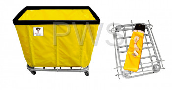 R&B Wire Products - R&B Wire 418KD 12 Bushel UPS/FEDEX-ABLE Basket Truck