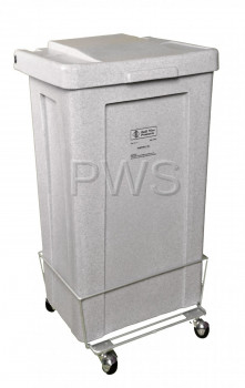 R&B Wire Products - R&B Wire 695 4 1/2 Bushel Poly Laundry Hamper