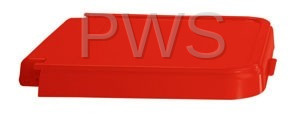R&B Wire Products - R&B Wire 602R ABS Crack Resistant Replacement Lid, Red