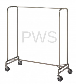 "R&B Wire Products - R&B Wire 715 60"" Single Garment Rack"