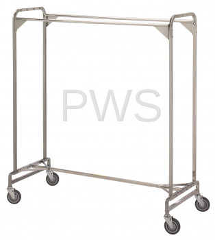 "R&B Wire Products - R&B Wire 725 60"" Double Garment Rack"