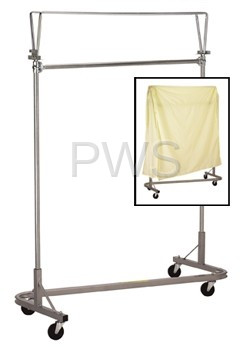 R&B Wire Products - R&B Wire 731 Cover & Folding Support Frame for 735 Stack-Rack
