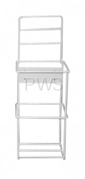 R&B Wire Products - R&B Wire HOLDER-SINGLE/1GL Bottle Holder w/Locking Lid for Single I GL Container, White