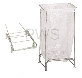 R&B Wire Products - R&B Wire 699NC Tension Hamper w/o Casters - Knocked-Down