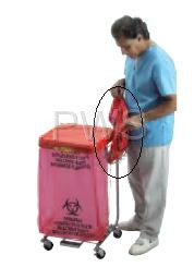 R&B Wire Products - R&B Wire 692BH Accessory Bag Holder for Medium Duty Hampers (692 & 694)