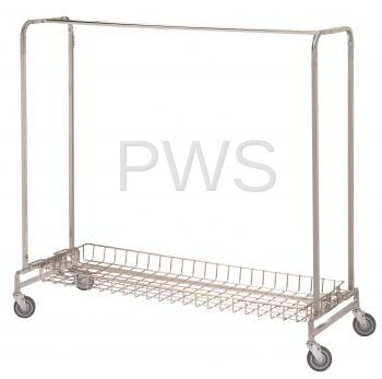 R&B Wire Products - R&B Wire 783 Basket Shelf for 715 & 725 Garment Racks