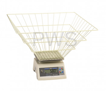 R&B Wire Products - SCALE WITH BASKET 50 LB