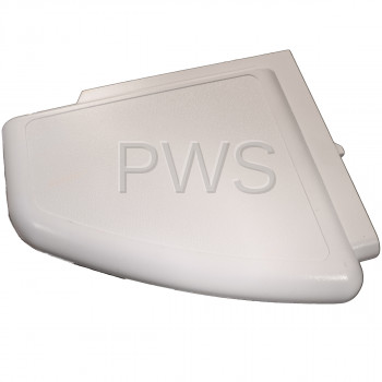 Cissell Parts - Cissell #504008WP Washer/Dryer PANEL END-RH WHITE PKG