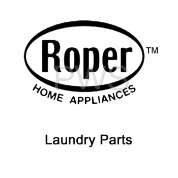 Roper Parts - Roper #3402335 Dryer Door, Front