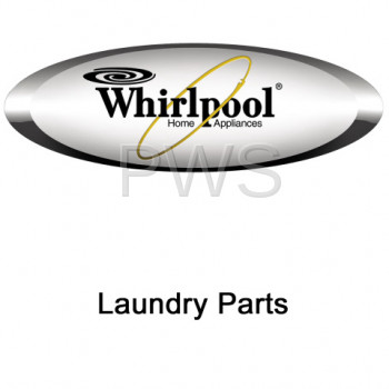 Whirlpool Parts - Whirlpool #W10085230 Dryer Label, Hinge Hole Cover