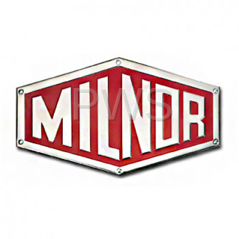 Milnor Parts - Milnor #0110158A NAMEPLATE,MILNOR