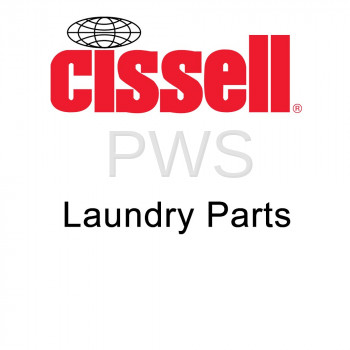 Cissell Parts - Cissell #9001252 Washer/Dryer NUT ZINC M4 DIN 934