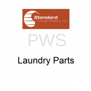 "Standard Changer Parts - Standard Changer #6D00043WH DECAL, $1, 2 5/8"", WHITE"