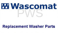 Commercial Laundry Parts - Commercial Wascomat Laundry Parts - Wascomat Parts - Wascomat #000617 Washer PANEL,W125 FRONT CONTROL (BLACK)