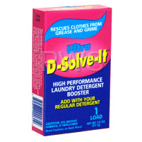 Laundry Supplies - Laundry Detergents & Soaps - Miscellaneous Parts - Ultra D Solve It Powder Coin Laundry Detergent Booster Vend Size (3 oz)
